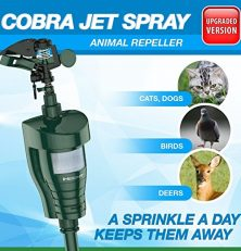 Hoont Cobra Upgraded Sprinkler Cat Repeller